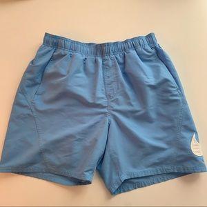 Nike Swim Trunks Light Blue Sz L